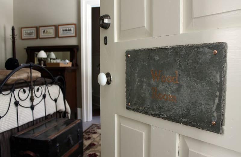Guest room at Black Sheep Inn and Spa.