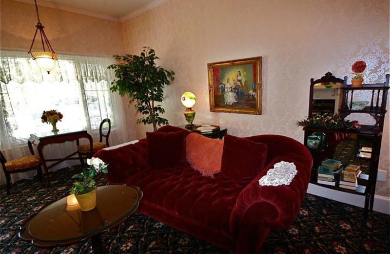 Living Room at Barnside Luxury Inn