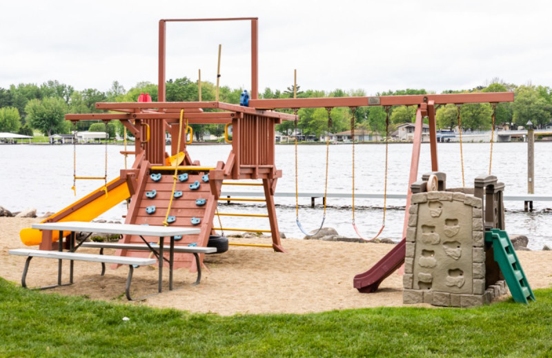 Playground at The Lighthouse Lodge.