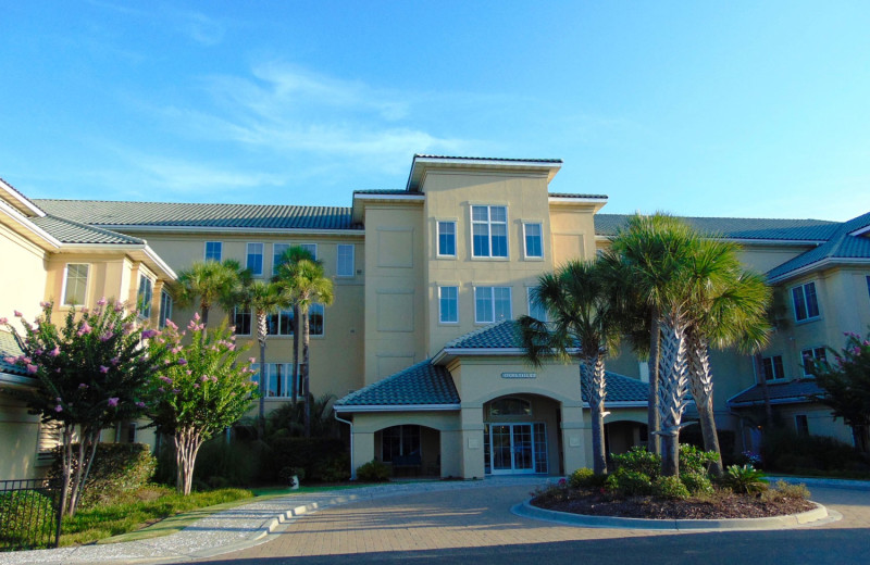 Rental exterior at Barefoot Resort Rentals.