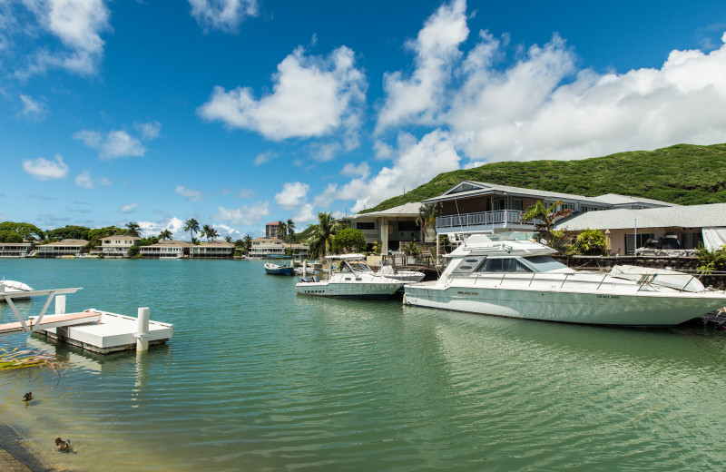 Rental view at Hawaiian Vacation Rentals.