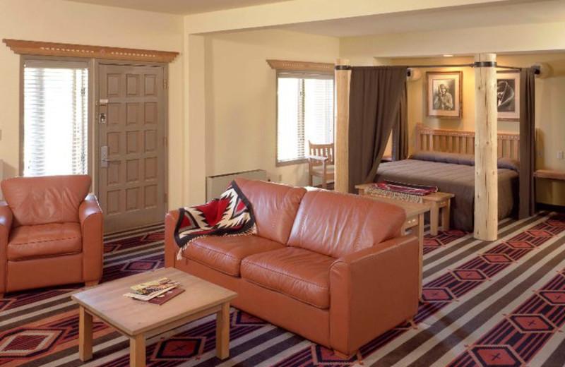 Suite interior at The Lodge at Santa Fe.