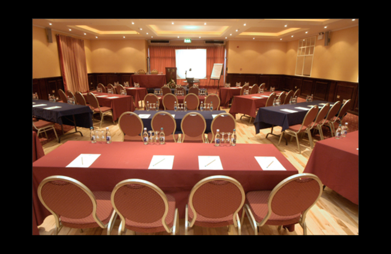 Conference room at Ambers Resort and Conference Center.