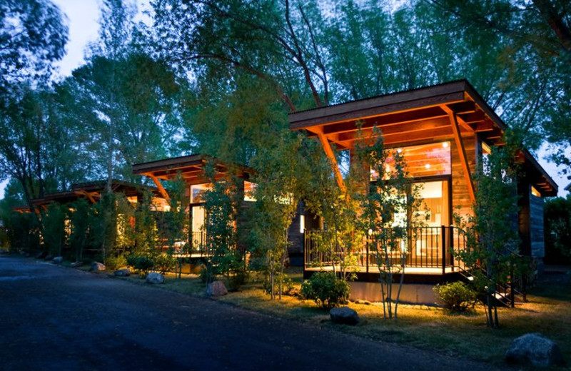 Luxury Cabins at Fireside Resort