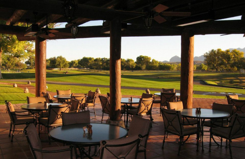 Fresco Dining at Tubac Golf Resort.