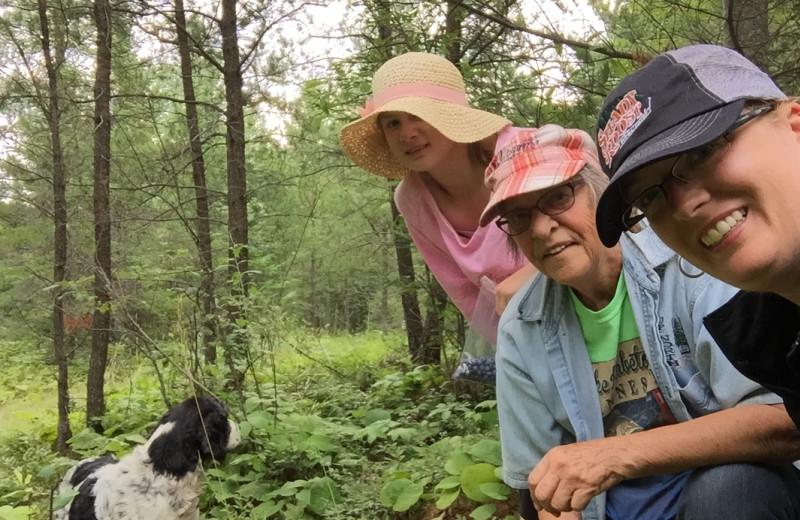 Hiking at Pine Tree Cove Resort