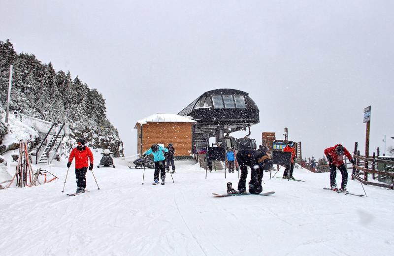 Skiing at Killington Rental Associates.