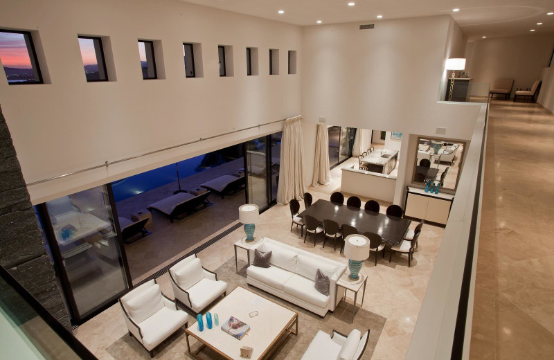 Rental interior at Sun Cabo Vacations.