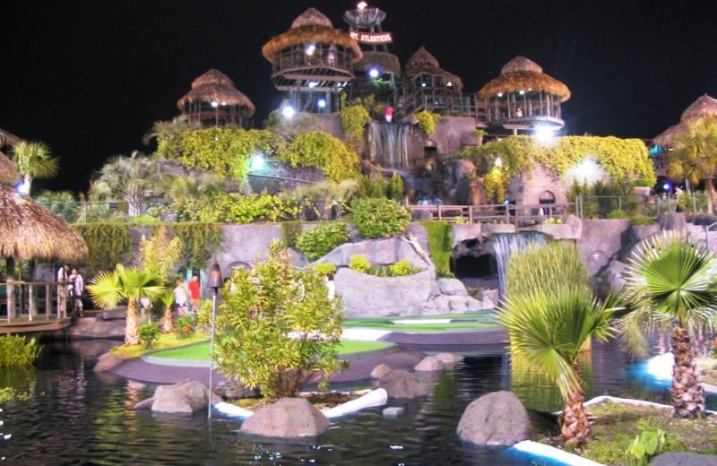 Mini golf at Caribbean Resort & Villas.