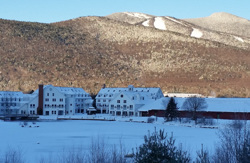 Exterior view of Waterville Valley.