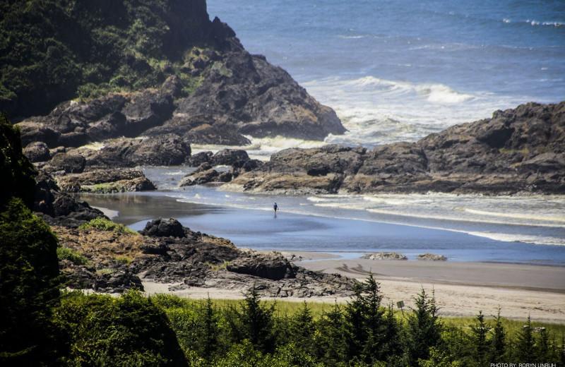Beach near Oceanfront Getaways.