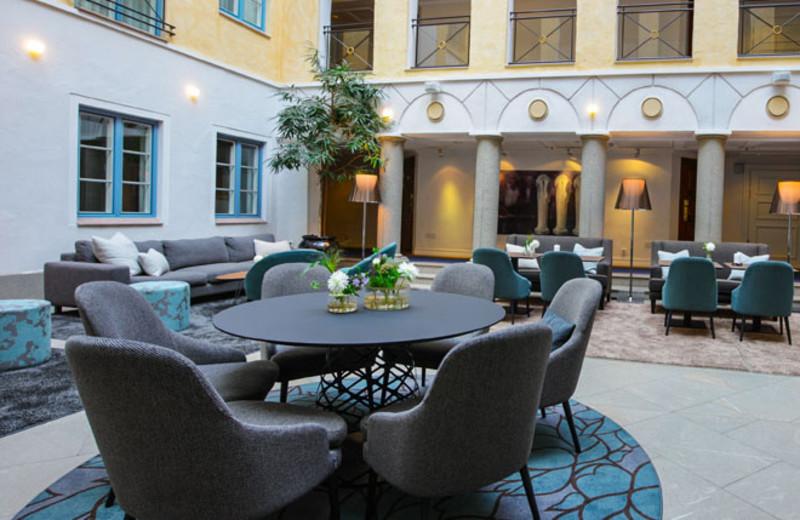 Patio at Master Johan Hotel.