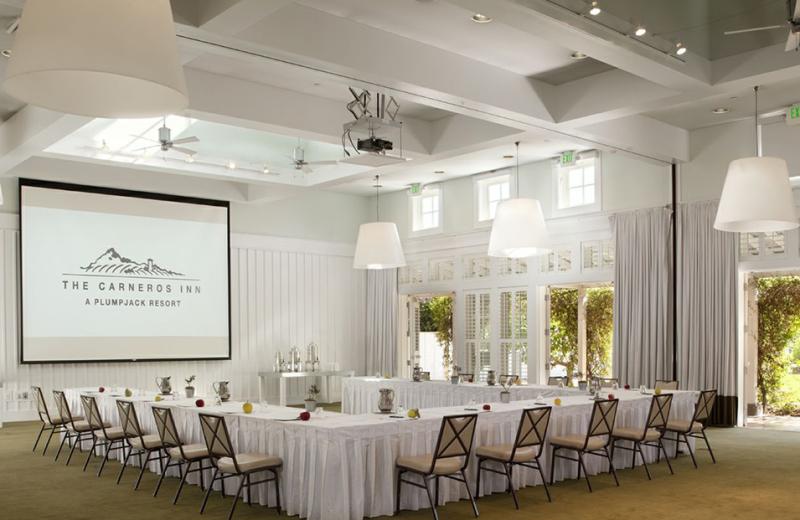 Meeting room at The Carneros Inn.
