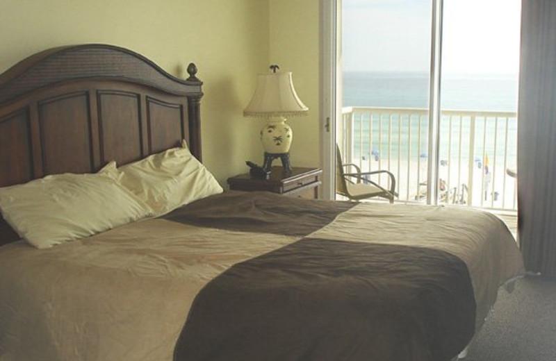 Rental bedroom at Beacon Resorts