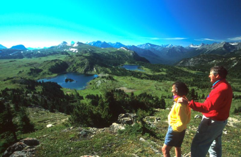 Scenic hikes at Banff Ptarmigan Inn.