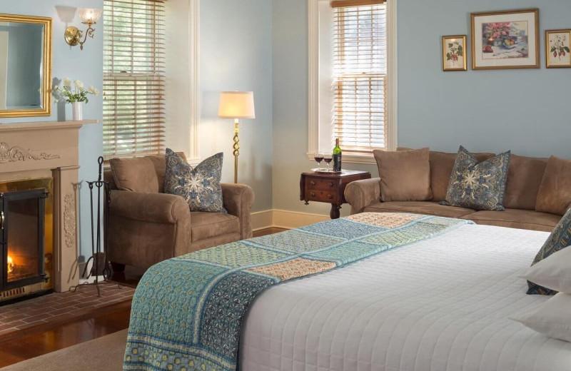Guest room at Brampton Bed