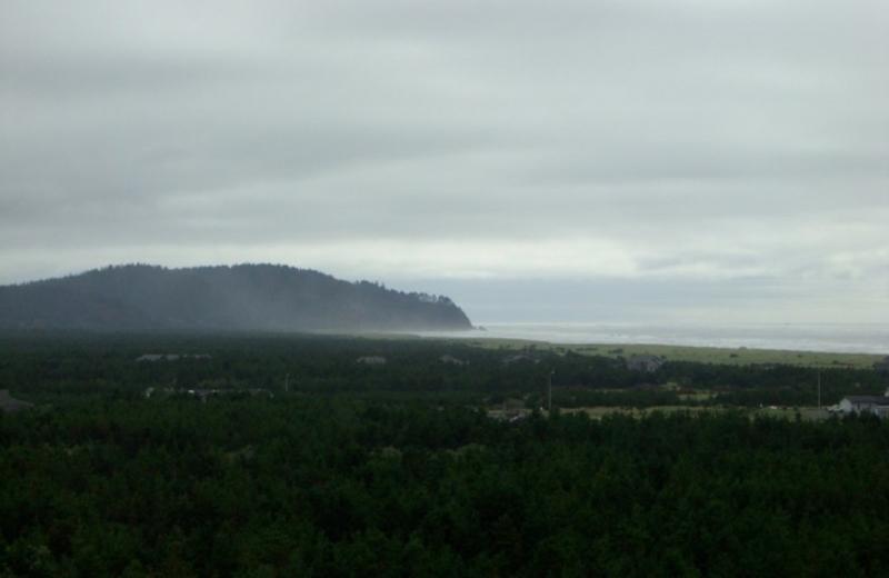 Ocean view at Cedars Ocean View Inn.