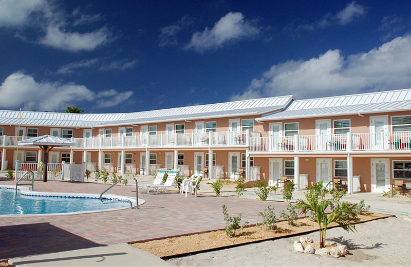 Exterior view of Brac Reef Beach Resort.