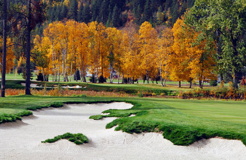 Golf course at The Idaho Club.