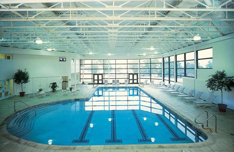 Indoor pool at Cranwell Resort.