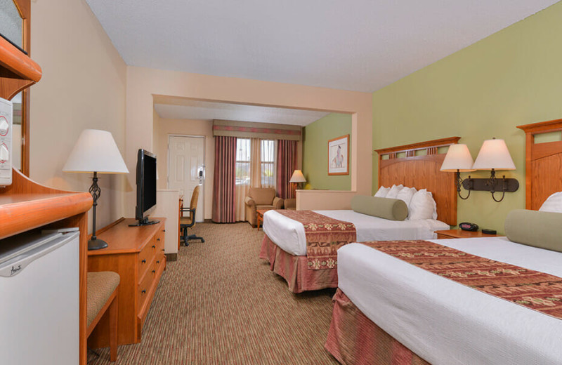 Guest room at Best Western Plus King's Inn & Suites.