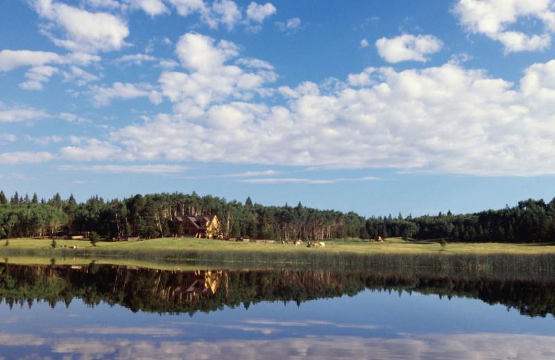 Exterior View of Siwash Lake Ranch