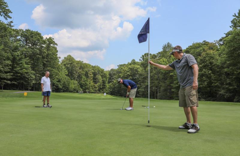 Golf course at Hidden Valley Resort.