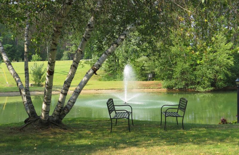 Lake view at The Seasons Resort.