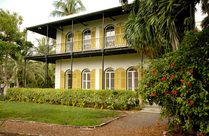 Ernest Hemingway House near Southernmost Inn.