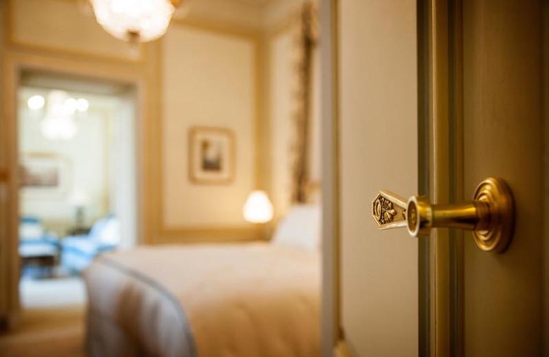Guest room at Ritz Paris.