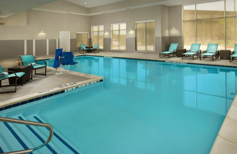 Indoor pool at Residence Inn by Marriott Tyler.