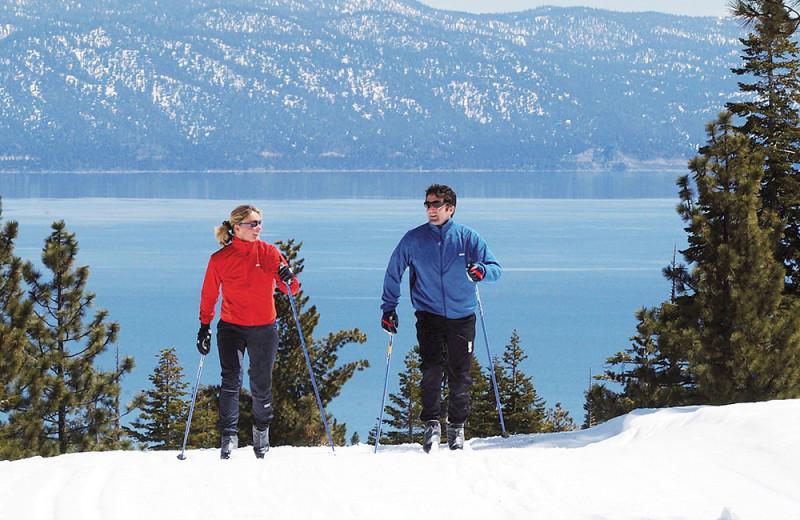 Skiing at Tahoe Getaways.