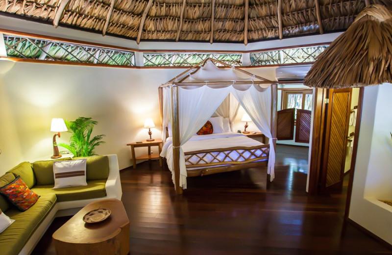 Guest room at Kanantik Reef & Jungle Resort.