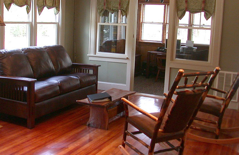 Lounge Area in the Mountaintop Lodge