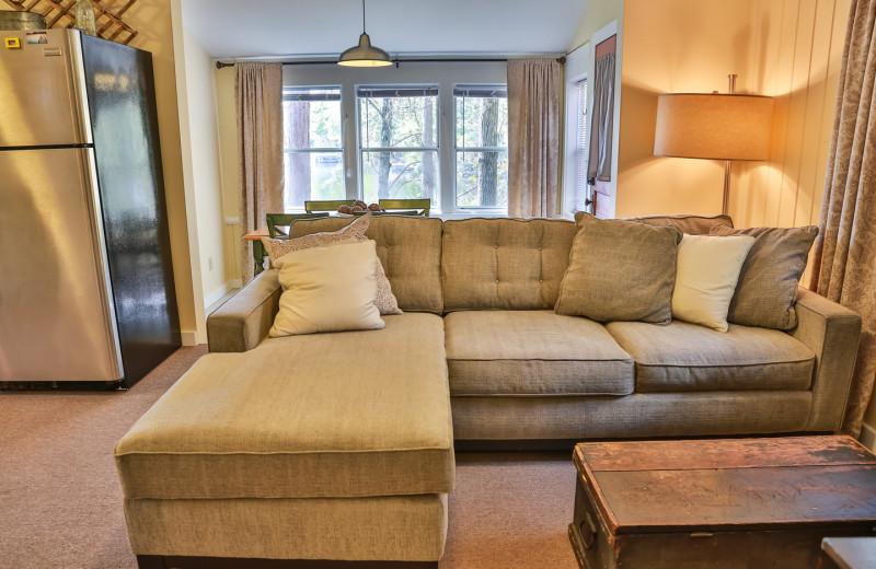 Rental living room at Hampel Properties.