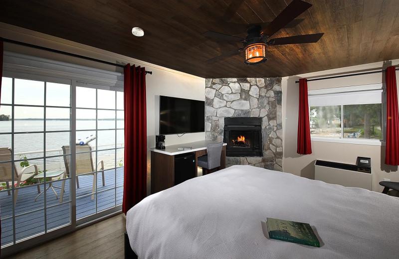 Cabin interior at Bayview Wildwood Resort.