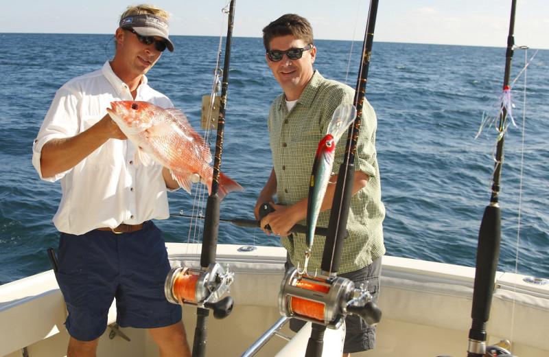 Fishing at Coastal Properties.
