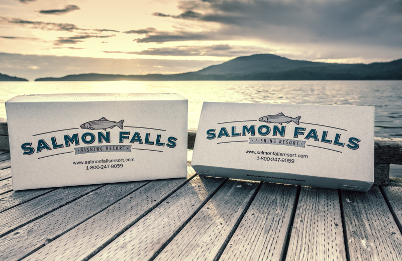 At Salmon Falls Resort, we clean, filet and pack all your fish for you to go home with.