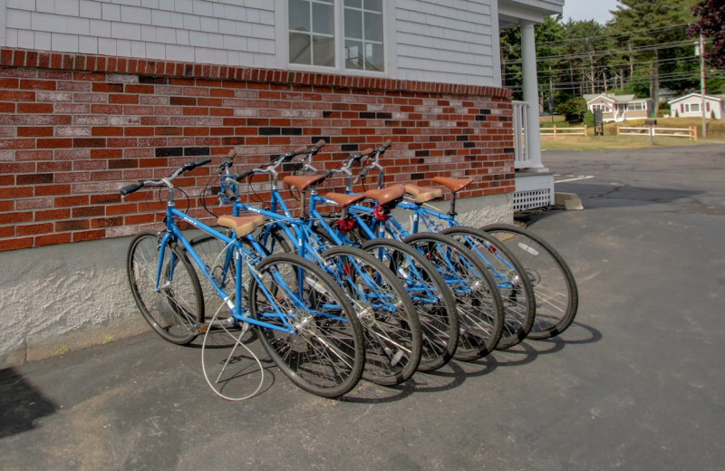 Bikes at Ogunquit Tides.