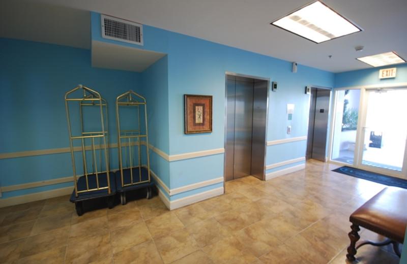 Lobby at Windemere Perdido Key.