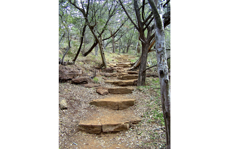 Steps at Canyon of the Eagles.