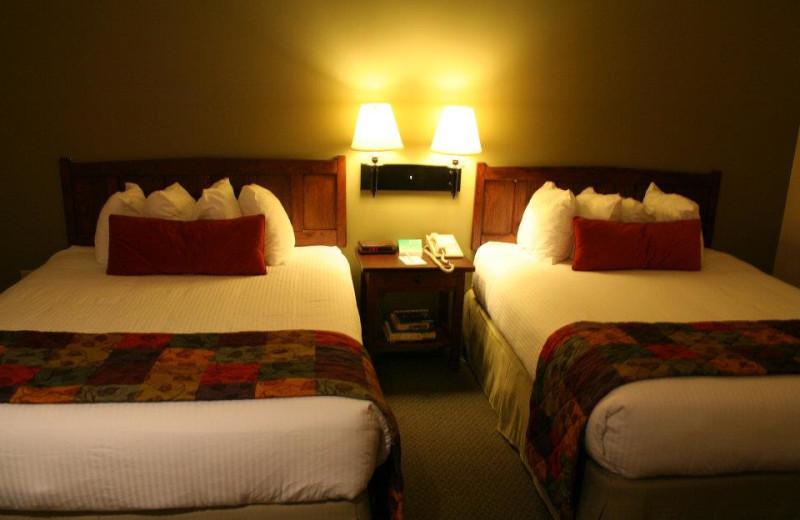 Guest Room at the Best Wester PLUS KwaTaqNuk Resort