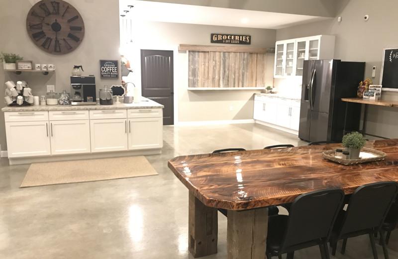 Kitchen at The Lodge at Windy Ridge.