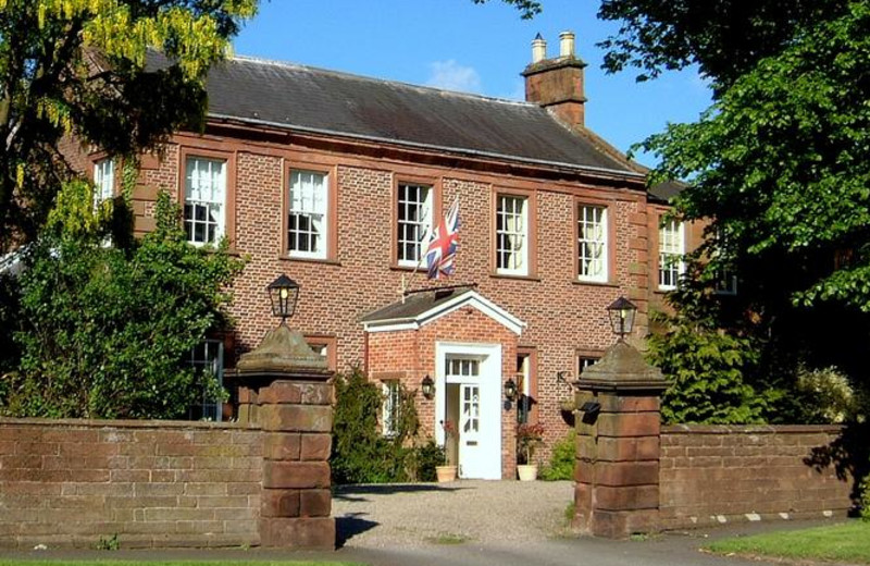 Exterior view of Temple Sowerby Country House.