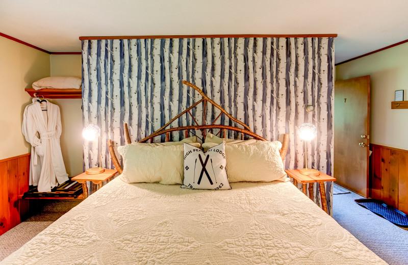 Guest room at Timberholm Inn.