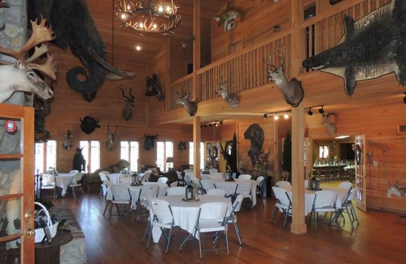 Great room at Buckhead Ranch.