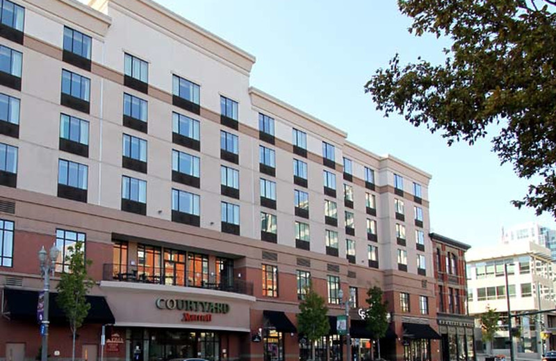Exterior view of Courtyard Tacoma Downtown.