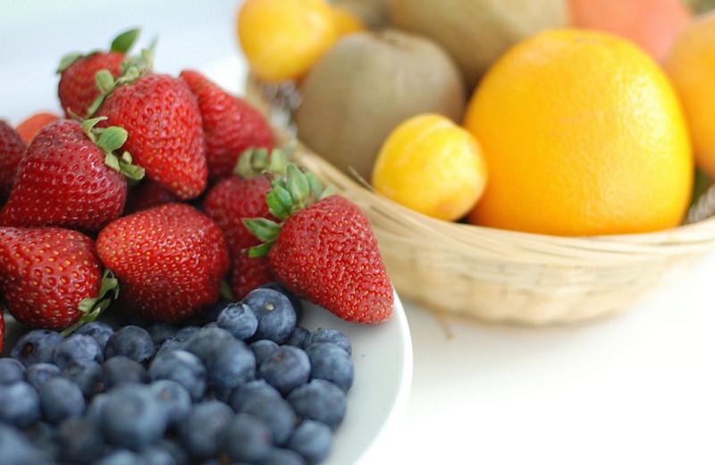 Fresh fruit at The Bell House Inn.