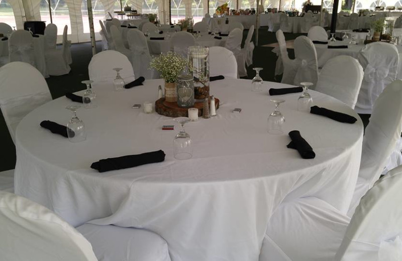 Wedding reception at Garland Lodge and Resort.