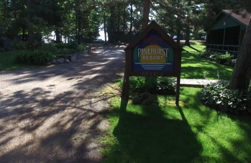 Exterior view of Lykins Pinehurst Resort.